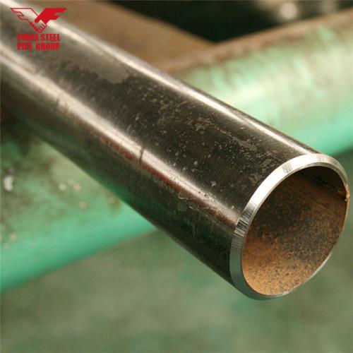YOUFA Brand manufacture ERW black carbon steel pipe price per ton