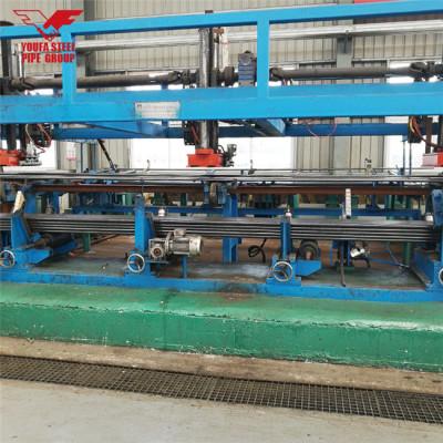Precio del tubo redondo de acero dulce de la marca del fabricante Youfa de Tianjin