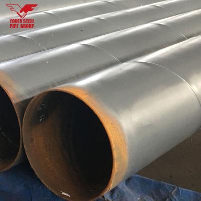 API 5L GR.B PSL1 Tubo de acero al carbono de tubo soldado de 24