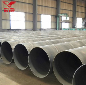 ASTM A252 SSAW Spiral welded steel pipes