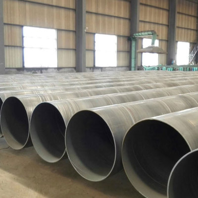 GBQ235B / Q345 Tubo de acero soldado SSAW / LSAW de pared gruesa de diámetro grande