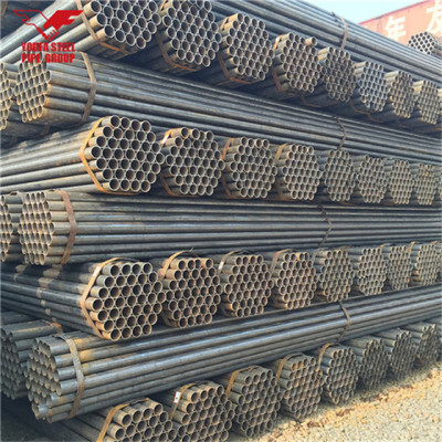 Youfa marca China fabrica tubos de acero redondos soldados de 2,5 pulgadas para estructura de edificios