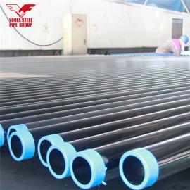 Youfa marca China fabrica tubos de acero negro de humo ERW para material de construcción