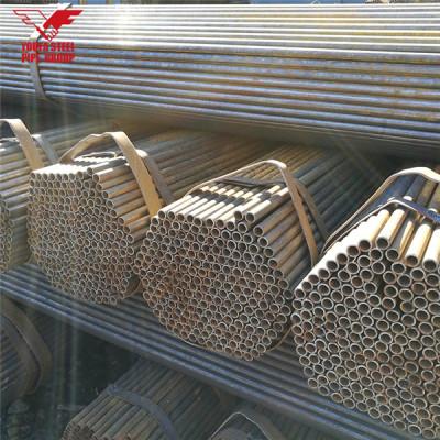 Tianjin Youfa  brand Q195 Q235 ERW welded black steel pipe steel price