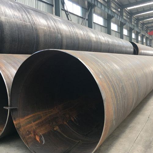 YOUFA Mejor proveedor de tubos de acero soldados en espiral SSAW de China