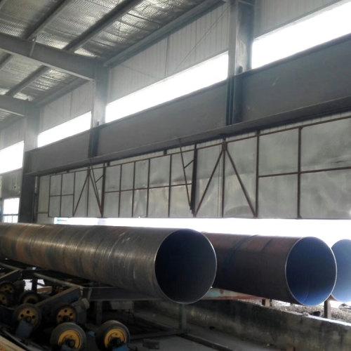 Tubos de acero en espiral de 36 pulgadas utilizados para proyectos de pilotaje SSAW ASTM A252 Standard