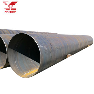 EN10217 S235JR carbon steel pipe LSAW for transporting fluid & Oil from YOUFA