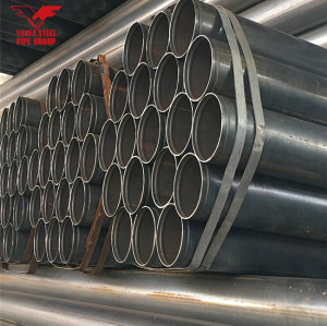 ERW carbon  round steel pipe