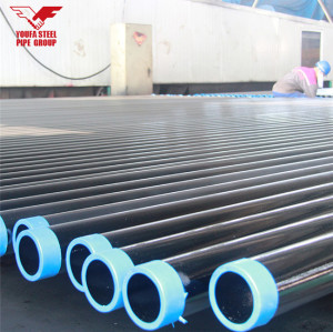 Youfa manufacure brand high quality carbon steel pipe, ms round pipe weight chart