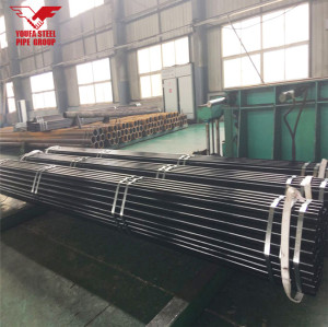 Youfa manufacure ERW carbon round mild steel pipe