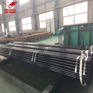Youfa manufacure Carbon erw черный чугун 60 мм диаметр стальная труба цена