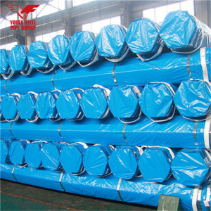 Youfa manufacure brand packaged pipe ERW carbon round