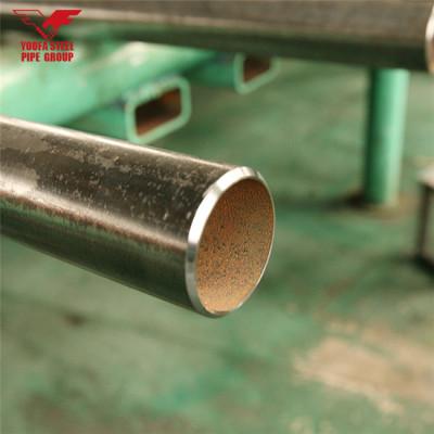 Youfa marca de fábrica de tubos de acero al carbono soldados tubos negros