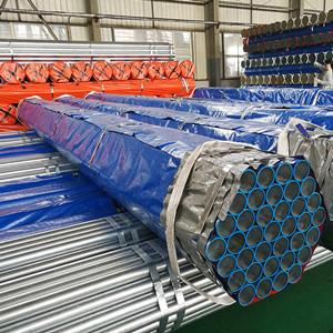 Good corrosion resistant rigid galvanized steel pipe galvanized steel pipe for irrigation