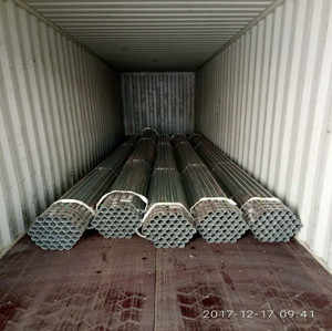 galvanized steel round pipe best quality cheap price from china