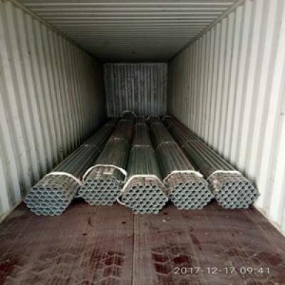 proveedor de china de tubería de acero galvanizado erw bs 1387 soldado de YOUFA