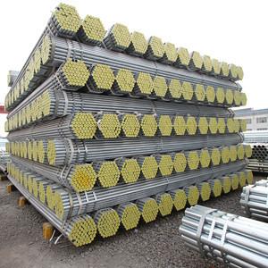 materiales de construcción metálicos tubo redondo de acero galvanizado de 5 pulgadas de YOUFA