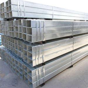 Q195 Q235 Q345 galvanized hollow rectangular structure ERW steel pipe