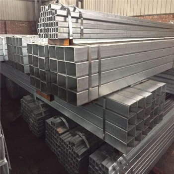 Hot Dipped Galvanized Welded Rectangular Square Steel Pipe