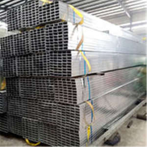 YOUFA Tianjin manufacturer Galvanized Square Rectangular Steel Tube For Greenhouse