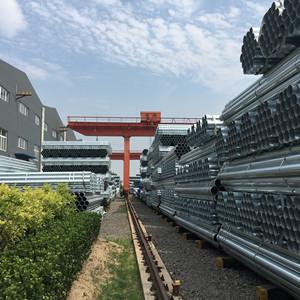 YOUFA fabrica tubos de acero galvanizado para marco de invernadero tubo galvanizado de efecto invernadero