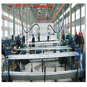 Precio de tubería galvanizada de 100 mm por pie para construcción de YOUFA