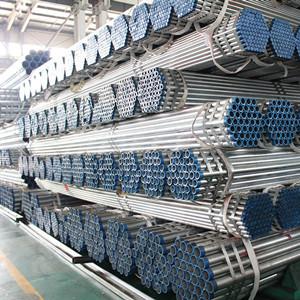 天津YOUFA製造のラウンド8インチ亜鉛メッキチューブ