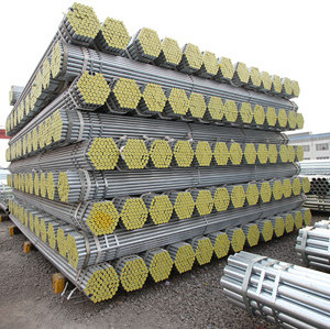 5mm 6mm Q195 60g Zinc Coating Welded Galvanized Steel Pipe