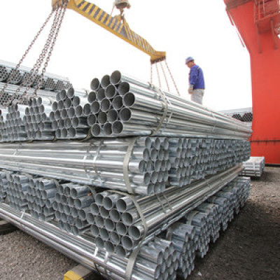 4 inch round carbon galvanized steel pipe  from YOUFA
