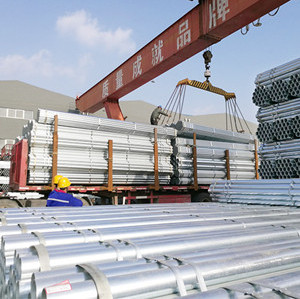 made in china factory green housed used galvanized steel pipe