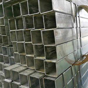 lowest price hollow structural square hollow steel pipe from YOUFA