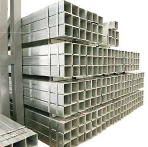 BS1387 EN 39 BS EN10219 Zinc Coated Square Tube