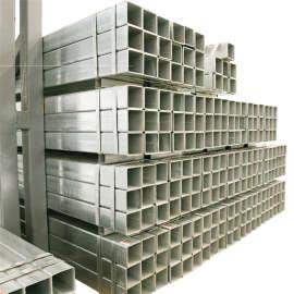 EN10219 أسود مجعد مزين قسم جوفاء مربع مستطيل