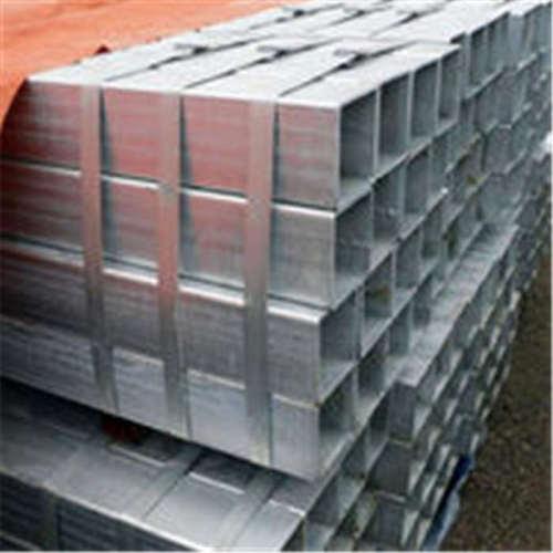 YOUFA fabrica tubería / tubo de acero galvanizado cuadrado de carbono Q195 para cercado suave
