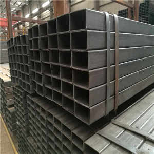 Q195 Q215 Q235 A53 Low Carbon Square And Rectangular Steel Pipe