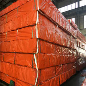 Building Material Q195/Q235 ERW Welded Square Structure Steel Tube