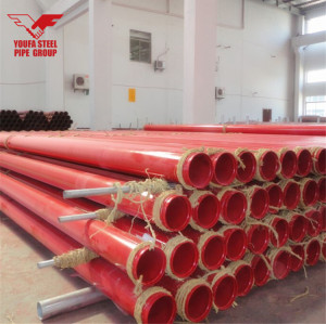 ASTM A53 Fire Sprinkler Pipe for Fire Protection with UL and FM Approved