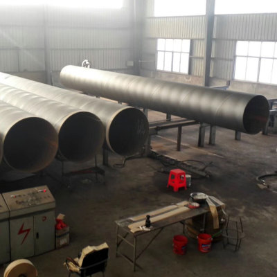 YOUFA SSAW Spiral Welded Steel Pipes 19 to 3500mm Outer Diameter