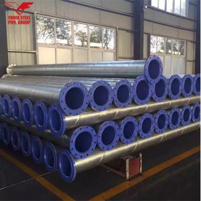 Tubo de acero YOUFA ASTM A53 grado B Q235, tubo de acero API 5L SSAW