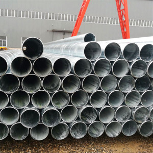Spiral/SSAW/SAW welded steel pipes