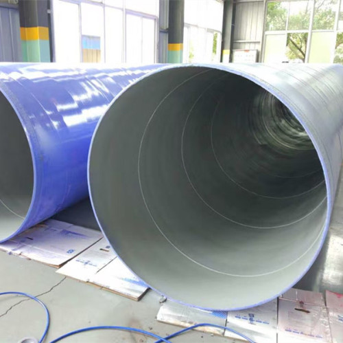 wholesale SSAW tube spiral pipe spiral steel pipe from YOUFA