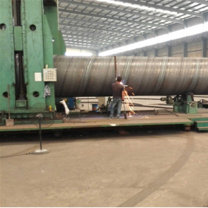 Best supplier of SSAW Spiral welded steel pipes with good quality and price