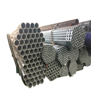 ERW black steel pipe  round hollow section