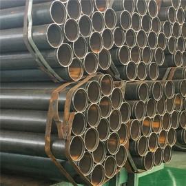 1 pulgada 1.5 pulgada 2 pulgada Tubo de metal de acero negro para estructura de acero