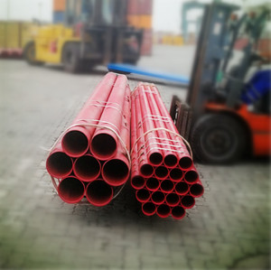 Tianjin Youfa Steel Pipe YOUFA Brand Fire Pipe with Groove End and Red Painted