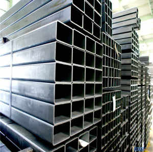 MS ERW Welded Hot Rolled Black Carbon Square Rectangular Hollow Section Steel Pipe Tube