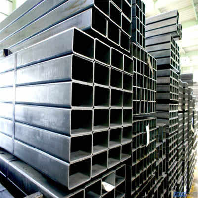 Tubo rectangular de acero cuadrado de carbono negro laminado en caliente DE YOUFA