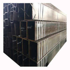 ERW Welded Hot Rolled Q235 Rectangular Square Carbon Steel Pipe