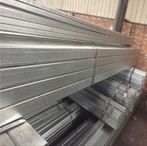Steel Profile MS Square Tube Galvanized Square Steel Pipe