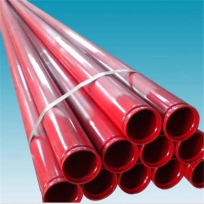 Tubo de extremo de ranura de 73 mm, 114,3 mm, 168,3 mm y pintado en rojo de YOUFA